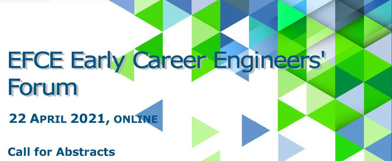 EFCE Early Career Engineers Forum Call for Abstracts